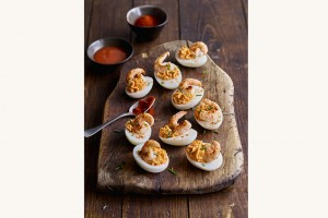 Devilled eggs with Frank's RedHot®