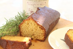 honey, olive oil and orange cake