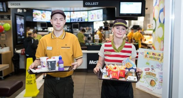 McDonalds table service being trialled: Picture Birmingham Mail