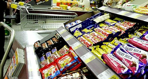 Morrisons is to remove sweets and chocolate from tills by next February. Picture: The Times