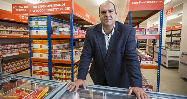 Sir Stelios Haji-Ioannou hopes to bring the easyJet approach to discount food retailing