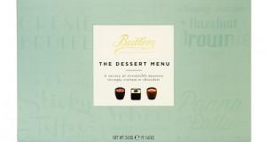 Butlers dessert menu