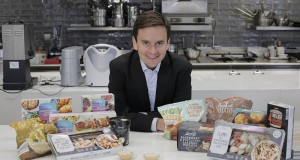 Richard Walker with 'no palm oil' products