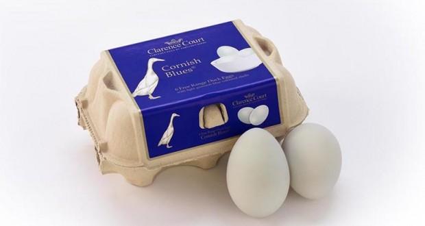 Waitrose Cornish Blue Duck Eggs
